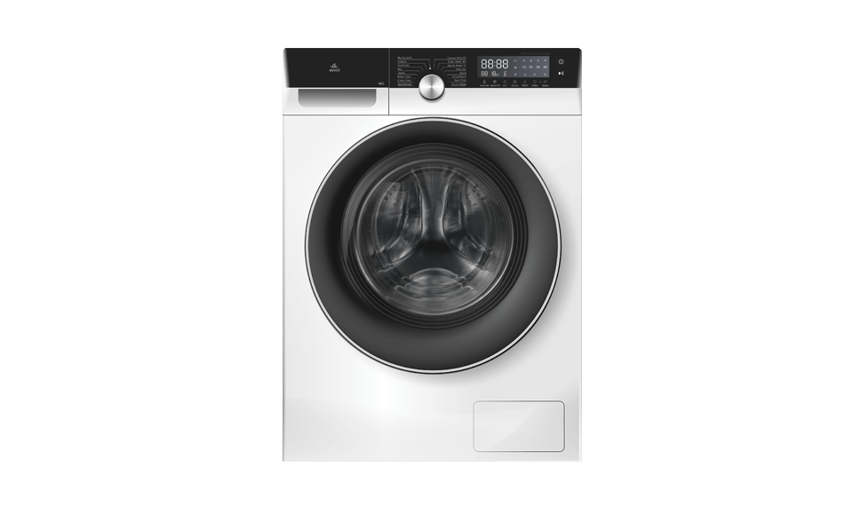 evvoli washing machine EVWM-FCOM-10715W, 8614 White