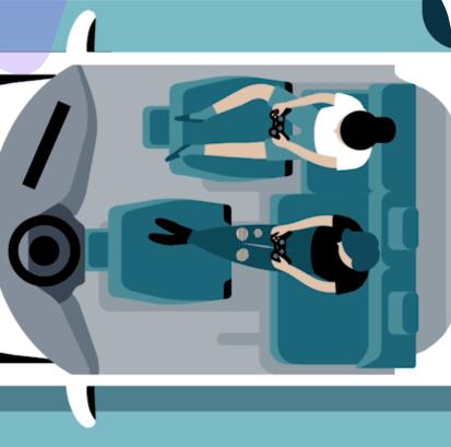 Redspace EV Concept Car interior view