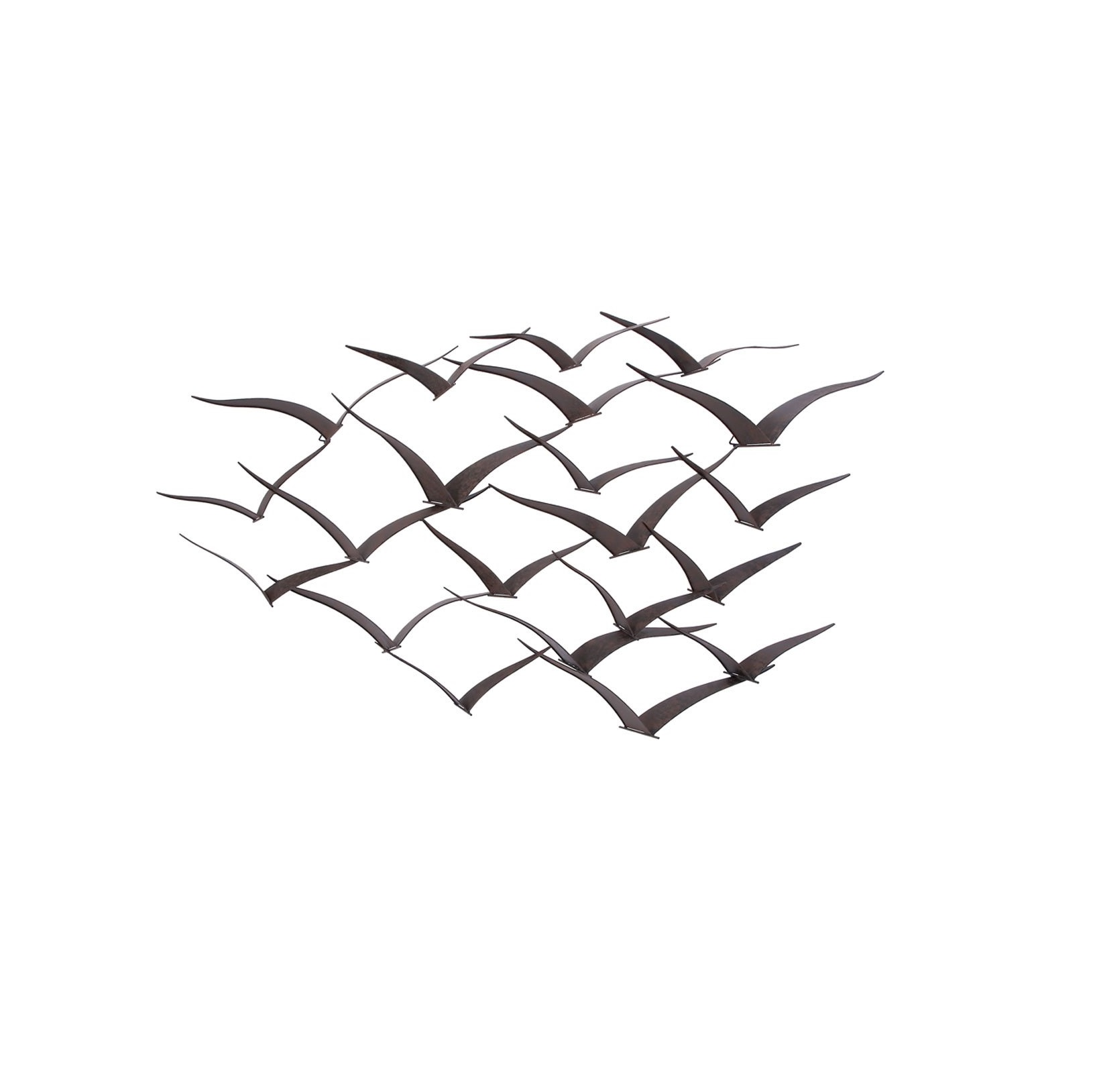 Metal Wall Sculpture of Flying Seagulls • Evyral