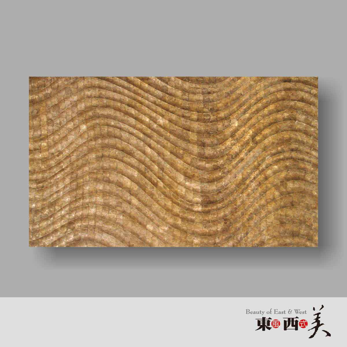Gold 3d Capiz Wall Decor Panels