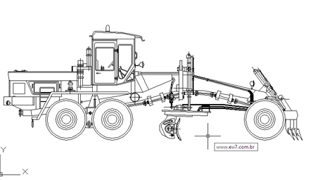 Blocos AutoCAD Equipamentos e Máquinas para Obras