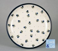 small dinner plate 24cm | Polish Pottery | Ewa & Co.