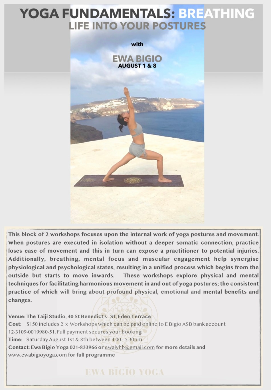 MODULE 2: BREATHING LIFE INTO YOUR POSTURES