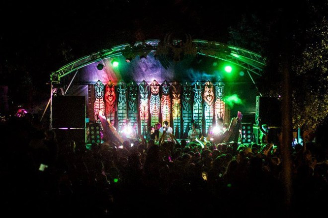 Forest Stage, Unknown Festival