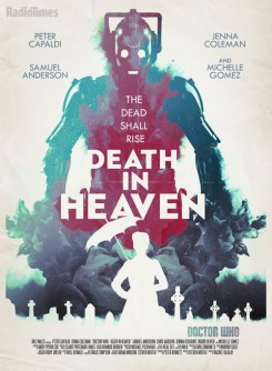 Doctor Who RadioTimes poster 12 Death In Heaven