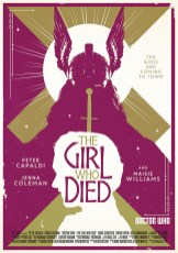 Doctor Who series 9 Radio Times poster by Stuart Manning 05 – The Girl Who Died