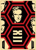 Doctor Who poster TWELVE by Ewan McGee