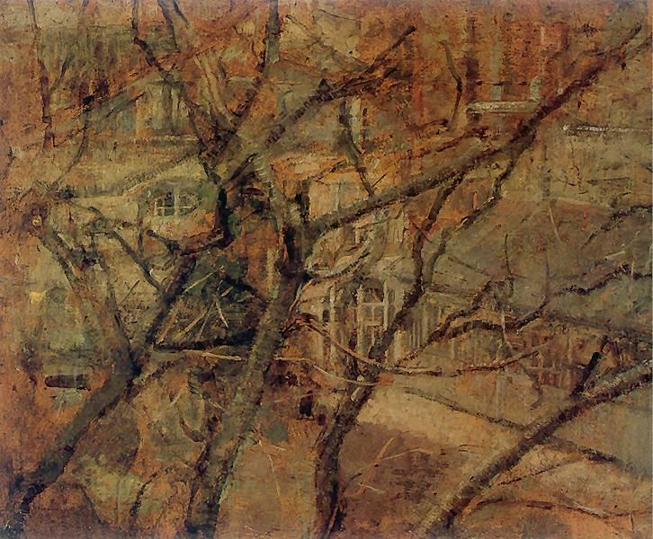 Olga Boznańska - Widok z okna