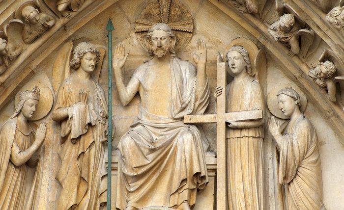 Portal katedry Notre-Dame w Paryżu