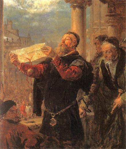 Jan Matejko - Dzwon Zygmunta (fragment)