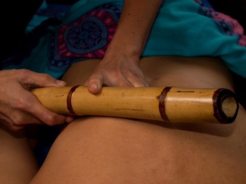 Masaż bambusami w Bieszczadach