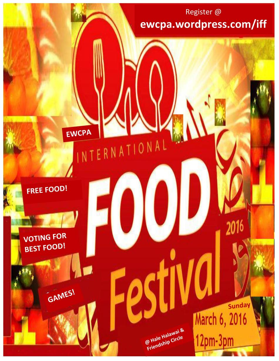 International Food Festival Flyer