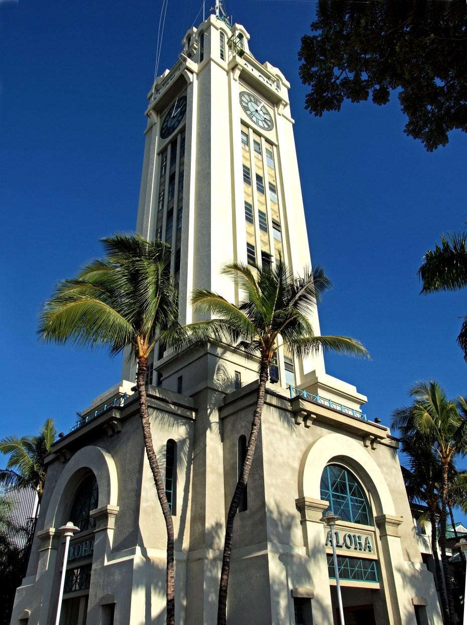 Aloha Tower at Honolulu Harbor