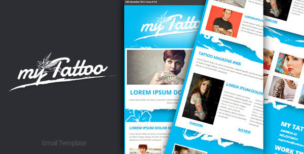 Tattoo Email Template