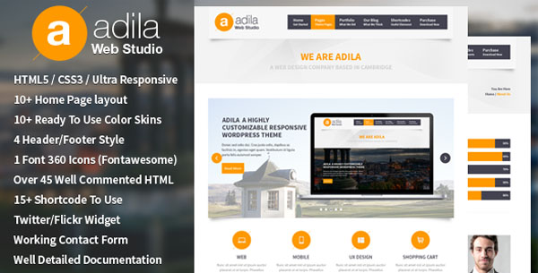 Adila: Multipurpose Business HTML Template