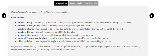 Magic Slider