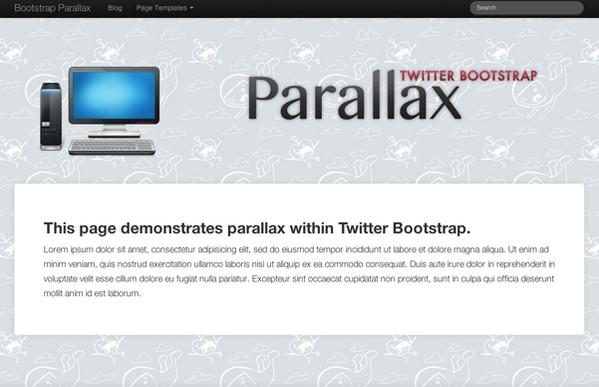 Bootstrap Parallax
