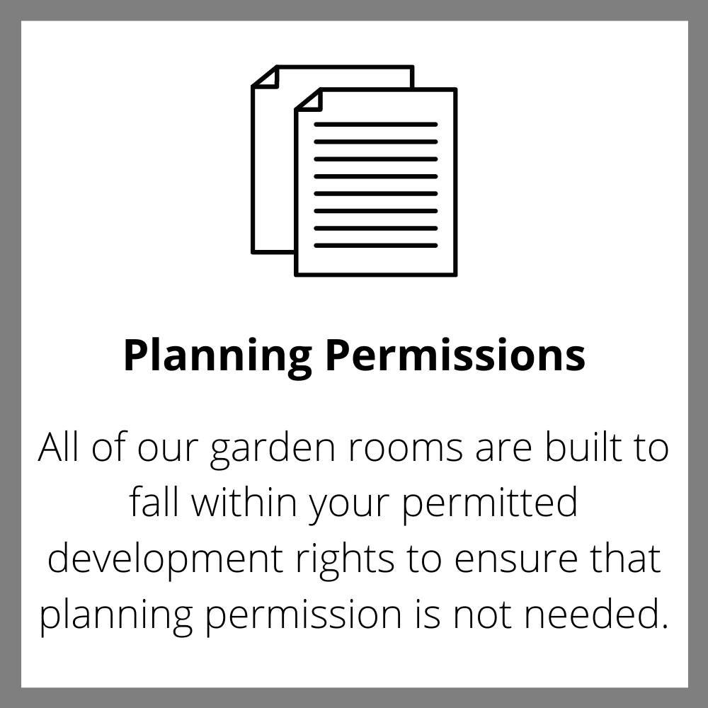 Planning Ewenny Garden Rooms
