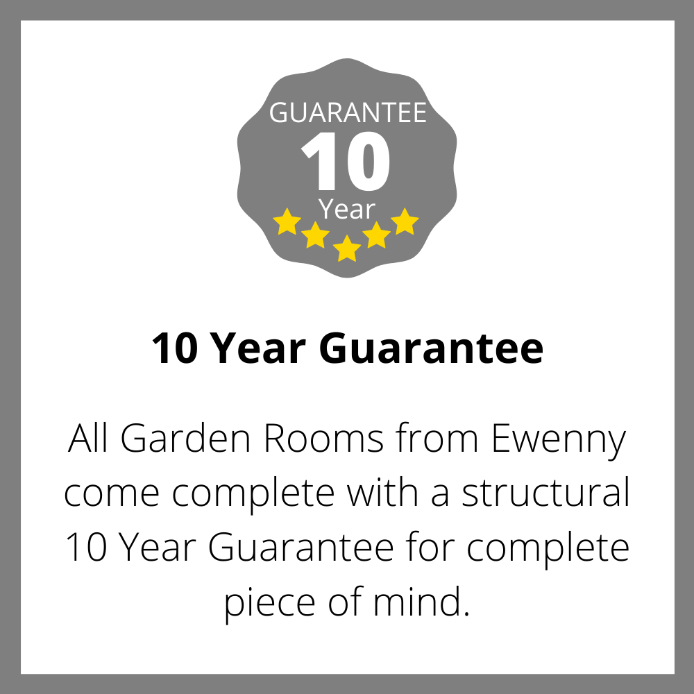 Guarantee Ewenny Garden Rooms