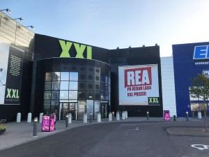 BigBelly intar Väla köpcentrum