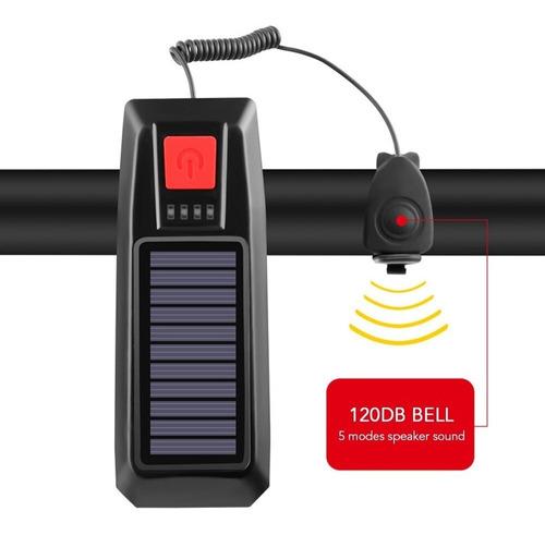 Luz LED con Bocina 120db