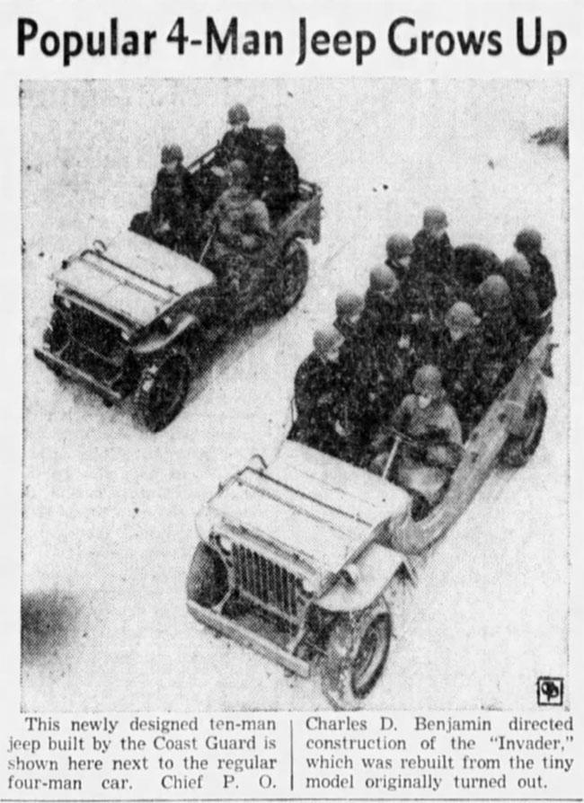 Fitzpatrick Jeep : fitzpatrick, Coast-Guard-Jeep, EWillys