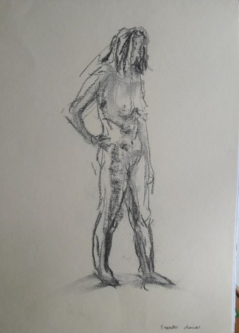 Fig. 4. 5 minutes charcoal