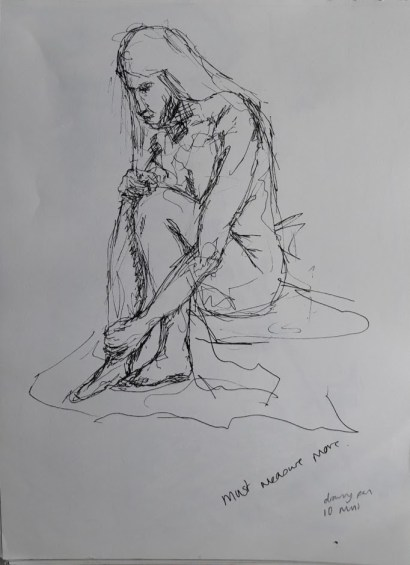 Fig. 8. 10 minutes. drawing pen