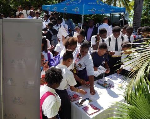 JA hosts North Eleuthera college fair