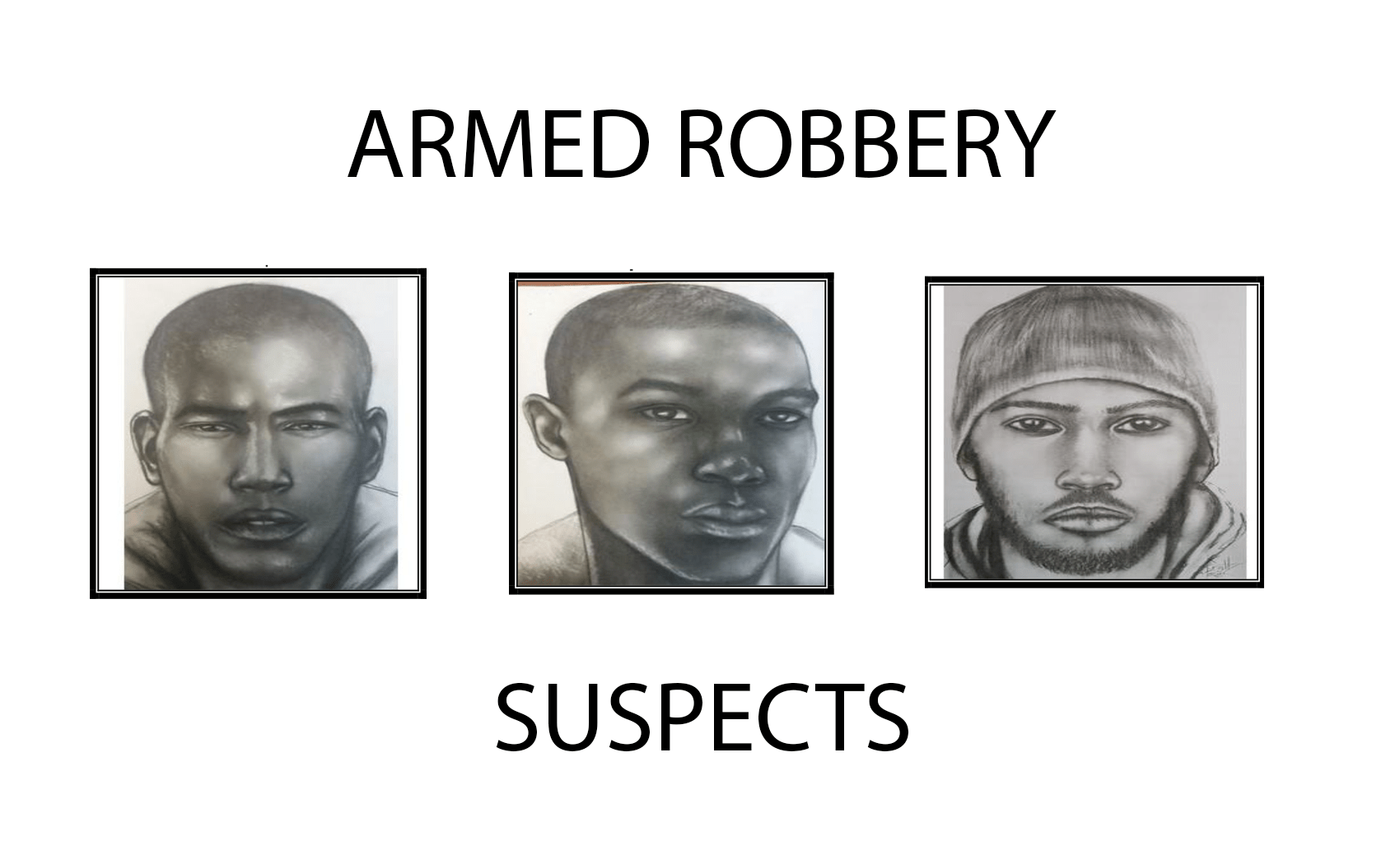 Manhunt for armed robbery suspects