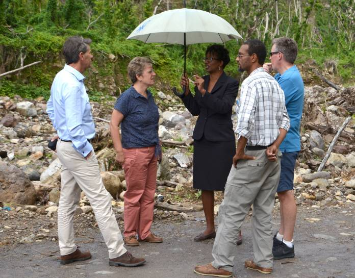 UK continues to help Caribbean islands rebuild after hurricanes
