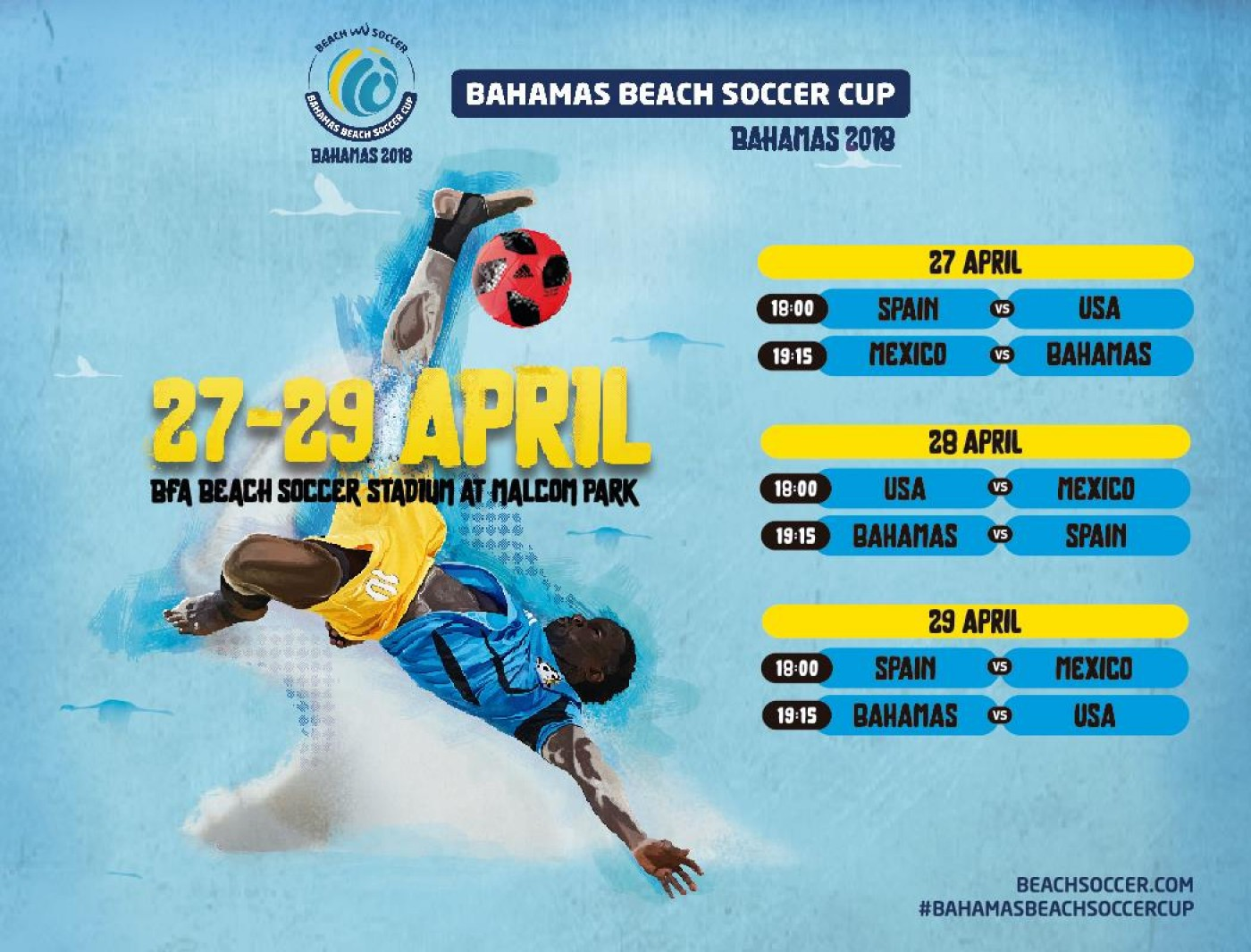 Beach Soccer Challenge begins today