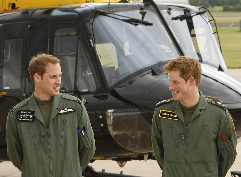 Palace: Prince William to be best man at Harry's wedding
