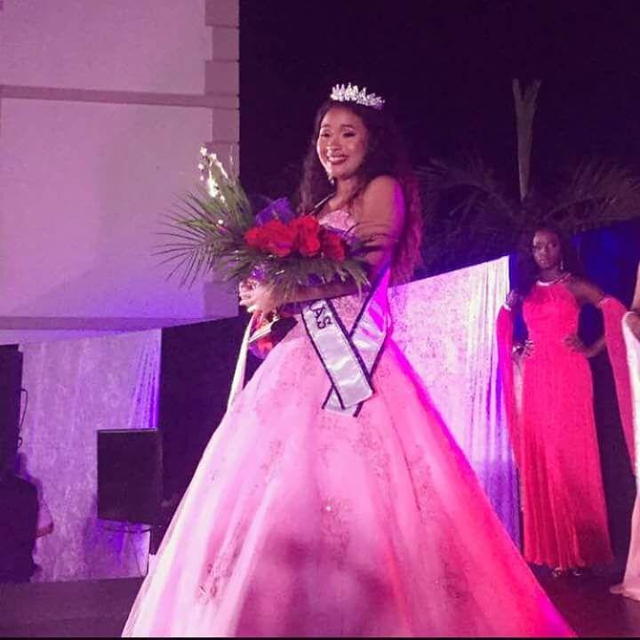 Cheney crowned Miss Teen Bahamas International 2018