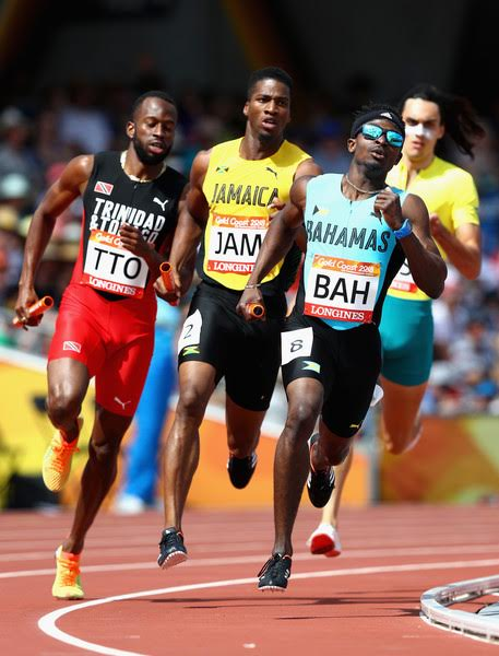 Men's 4×400 team wins silver at Commonwealth Games
