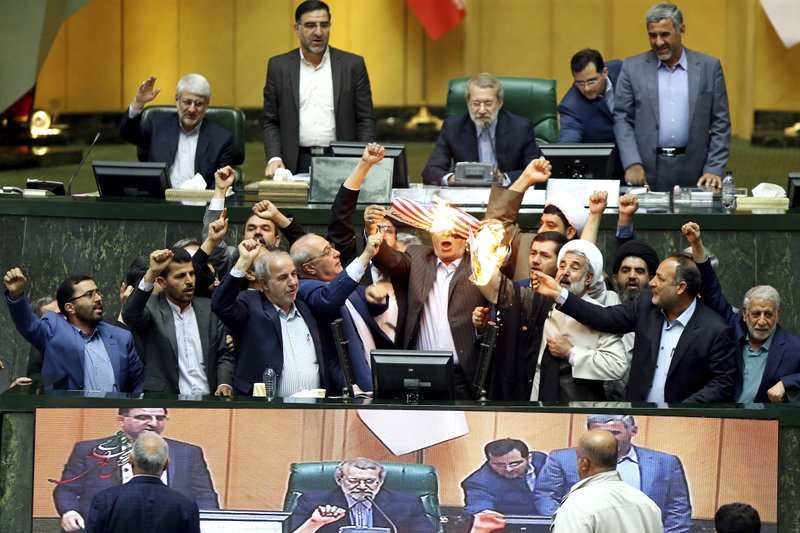 Iran's top leader, lawmakers lash out at US on nuclear deal