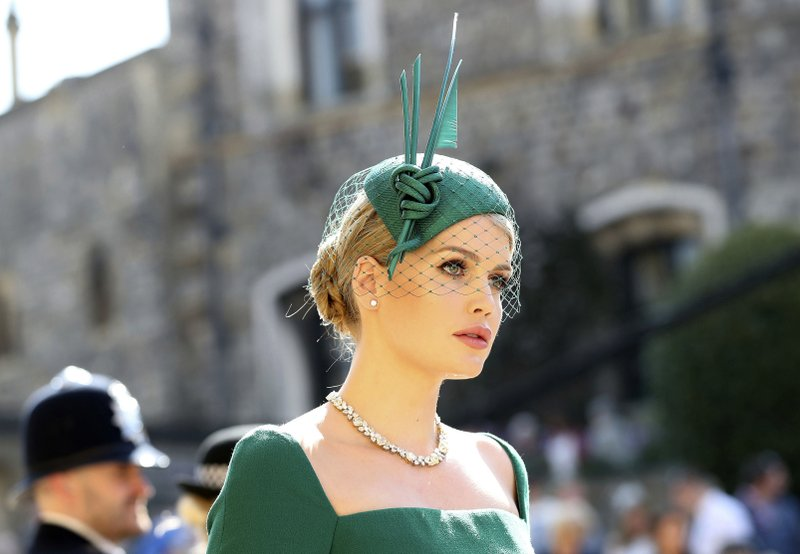 It's all about the well-plumed hats for royal wedding guests