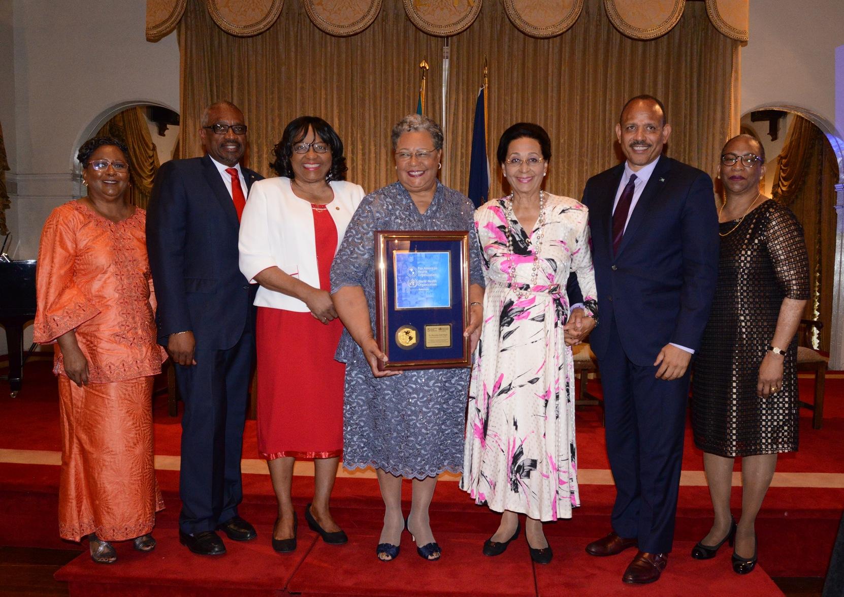 PM applauds Dr. Dahl-Regis on international recognition