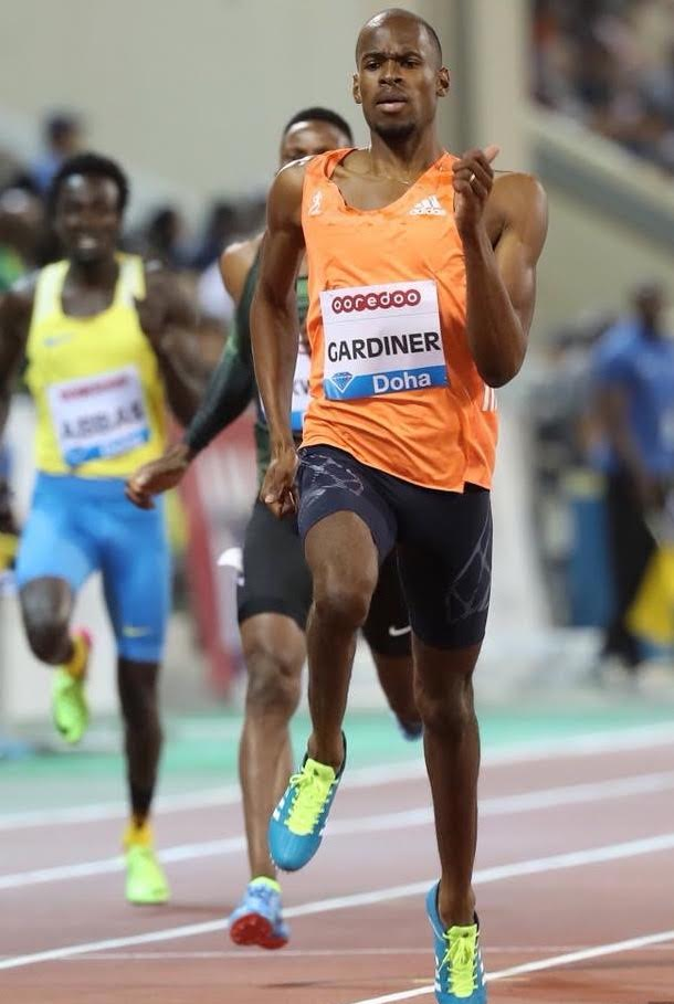 Gardner sets new national record in Doha