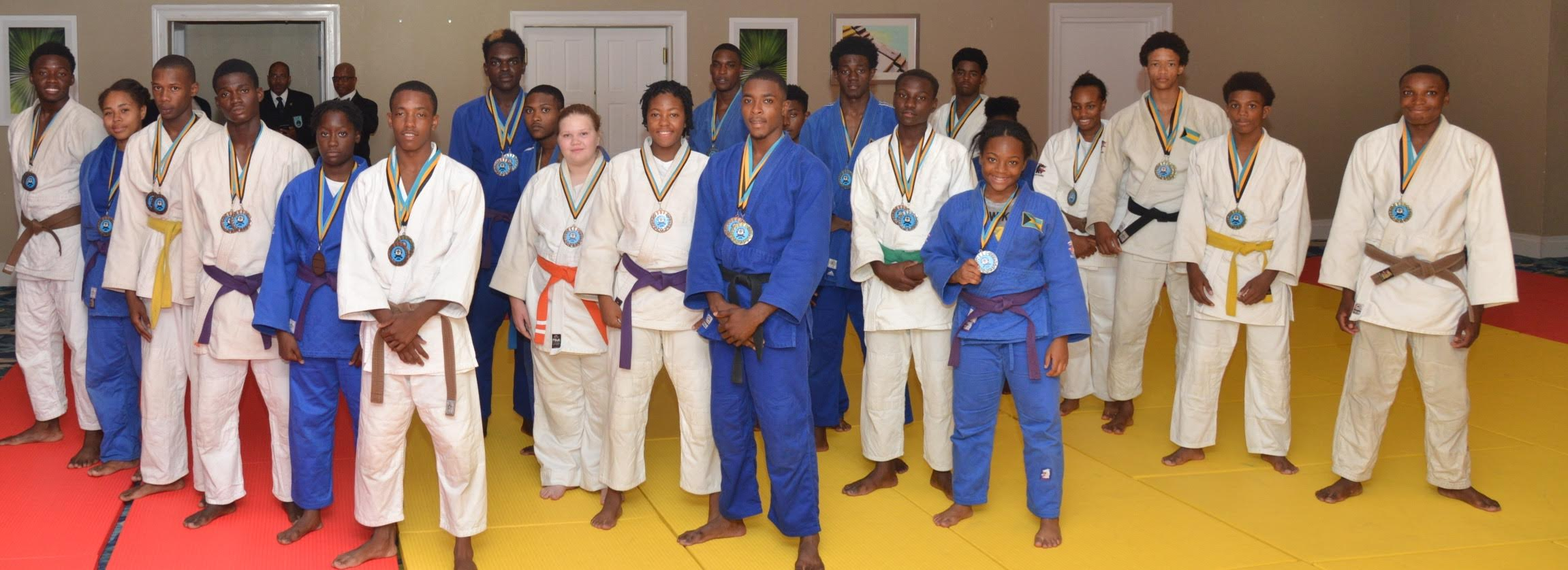 Bahamas sweeps CARIFTA Judo