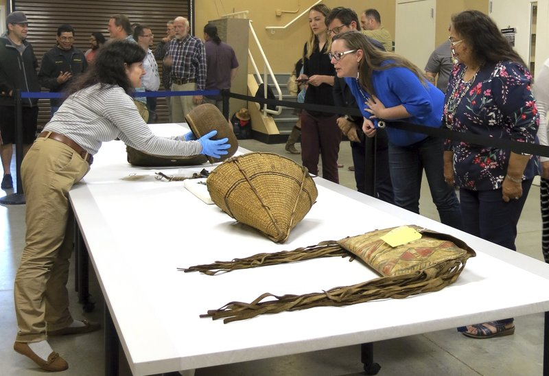 Tribe welcomes artifacts from British Museum