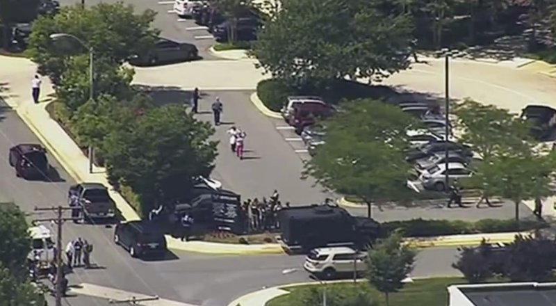 Multiple people shot at newspaper in Annapolis, Maryland