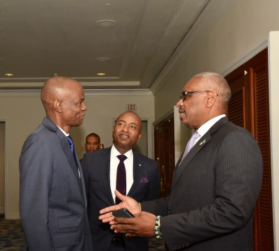 Minister of Foreign Affairs bilateral trade meetings at CARICOM