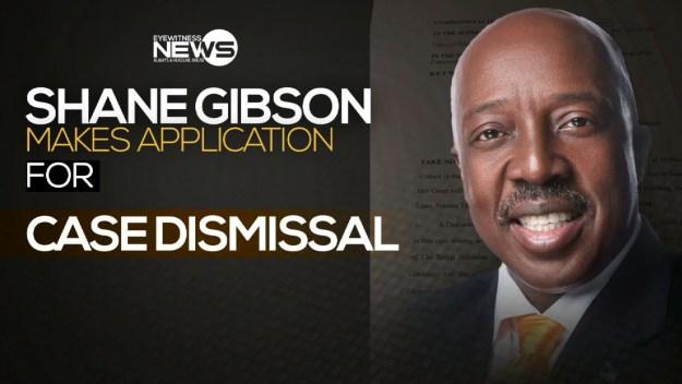 Gibson applies for court case dismissal