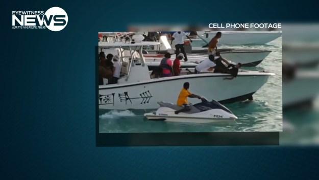 Manhunt for men responsible for stabbing at Rose Island