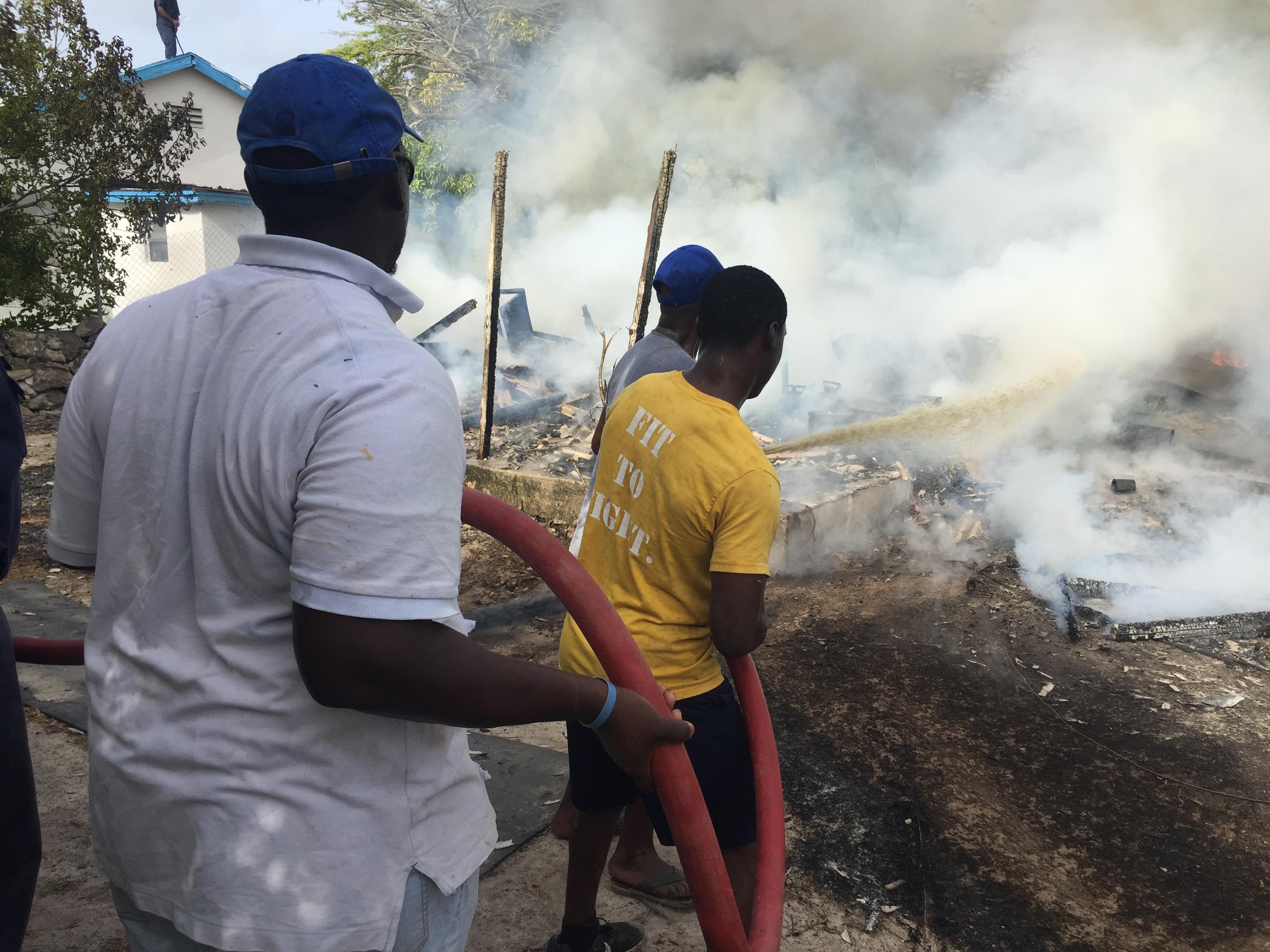 Investigators probe Inagua fire