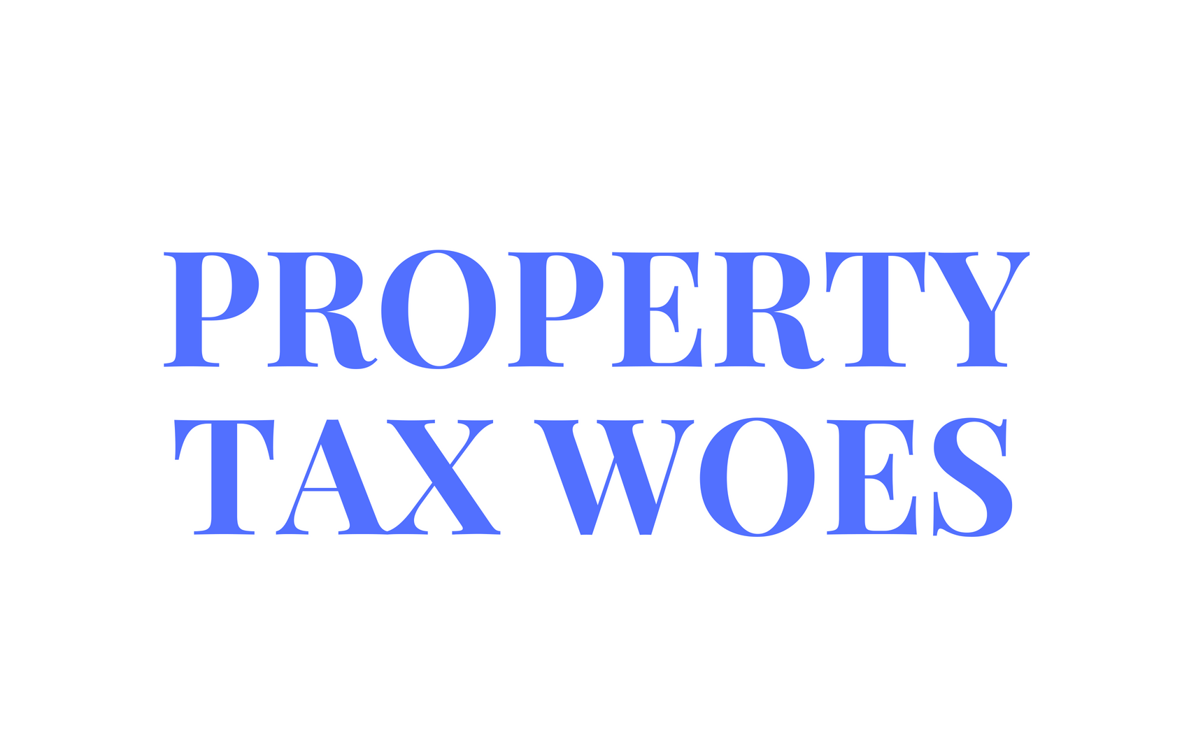 New property tax hike negatively impacts real estate market