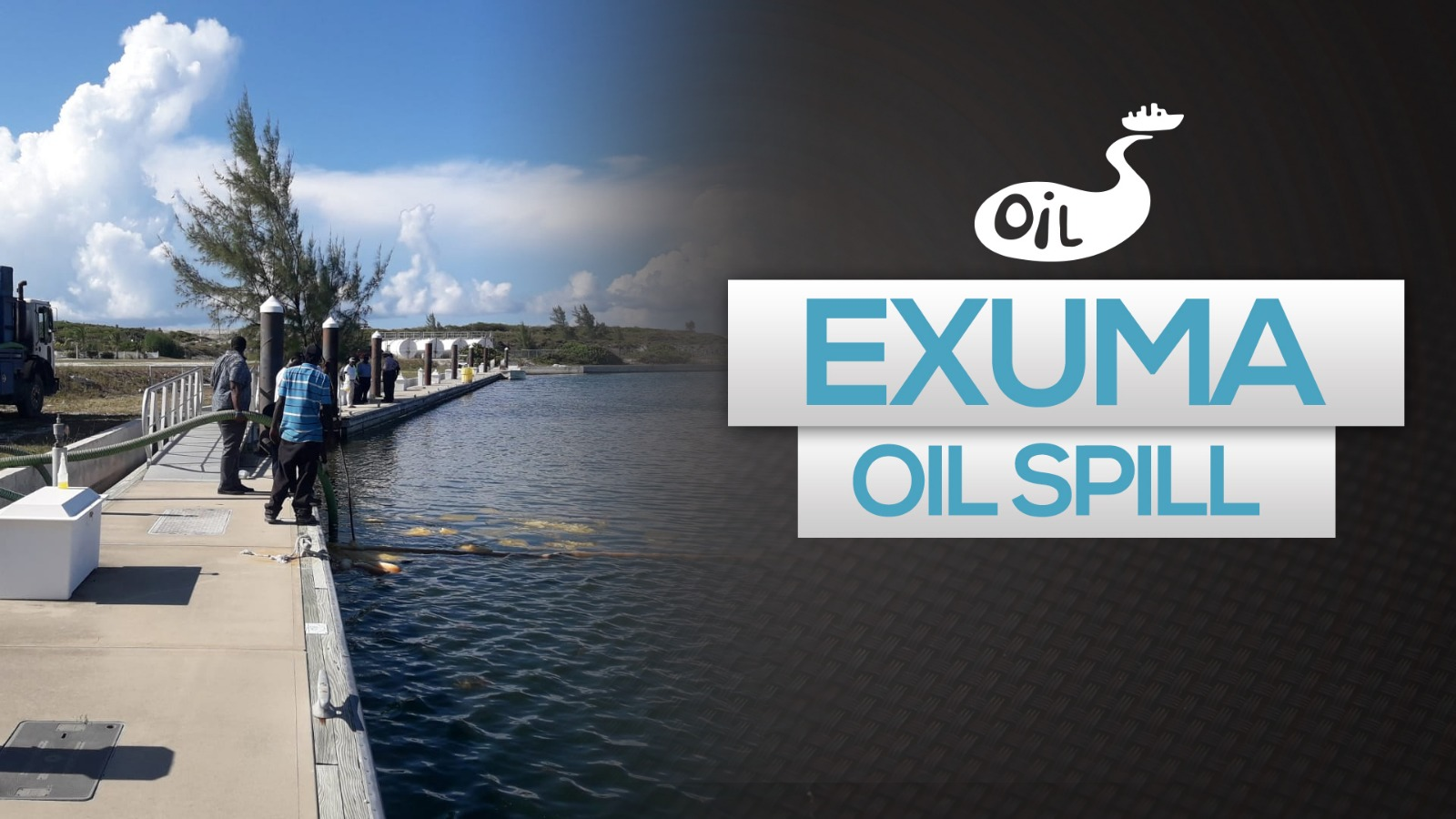 Pipeline leak leads to Exuma oil spill, Shell says