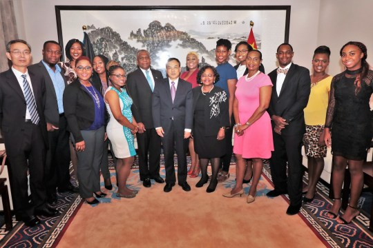 Eleven Bahamians Receive Chinese Government Scholarships