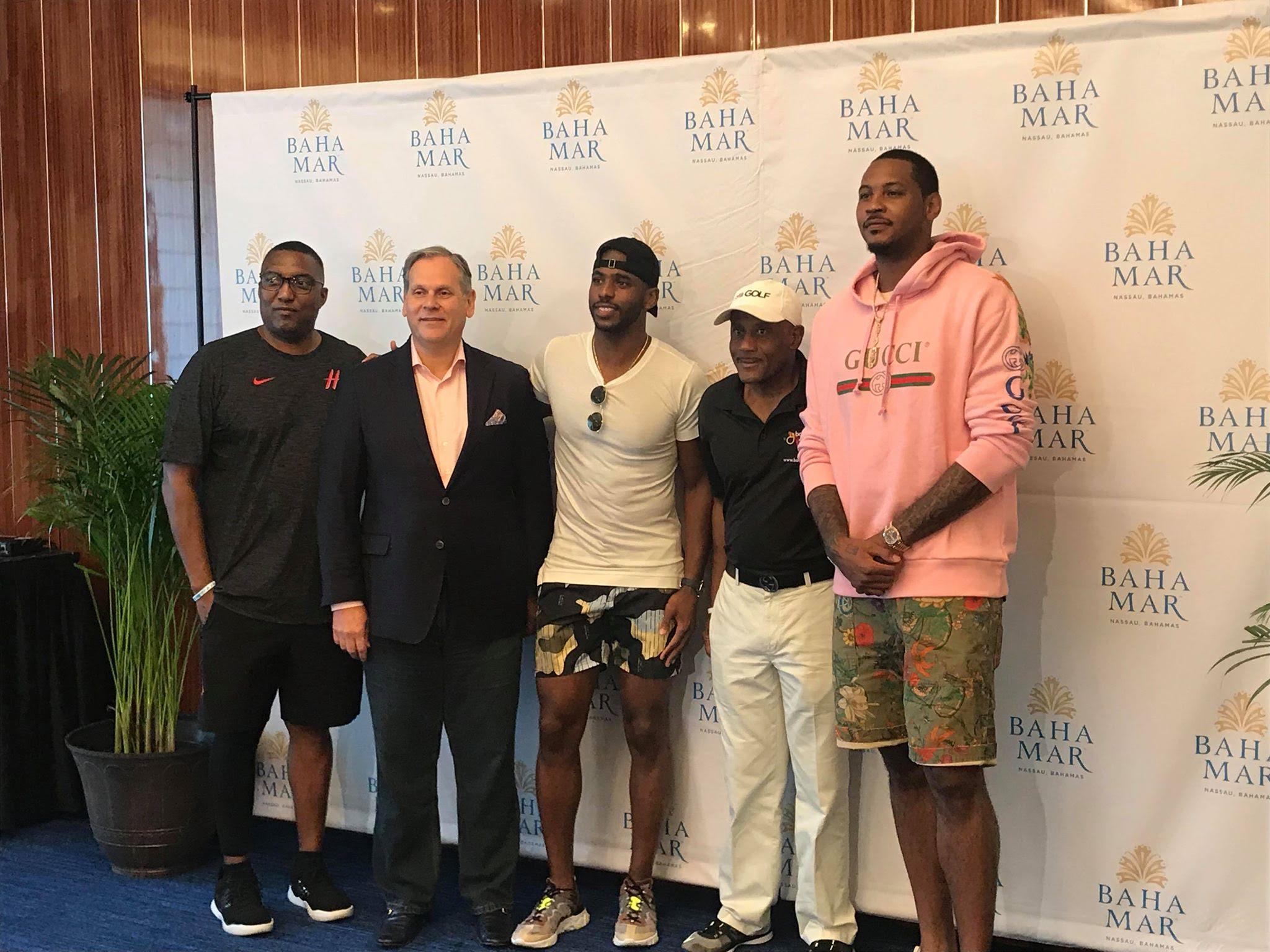 Rockets host Bahamas training camp